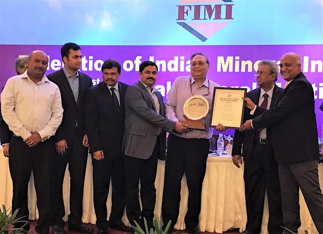 Tata Steel's Noamundi Iron Mine awarded FIMI Excellence Award