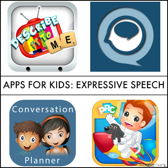 Speech apps for kids from And Next Comes L