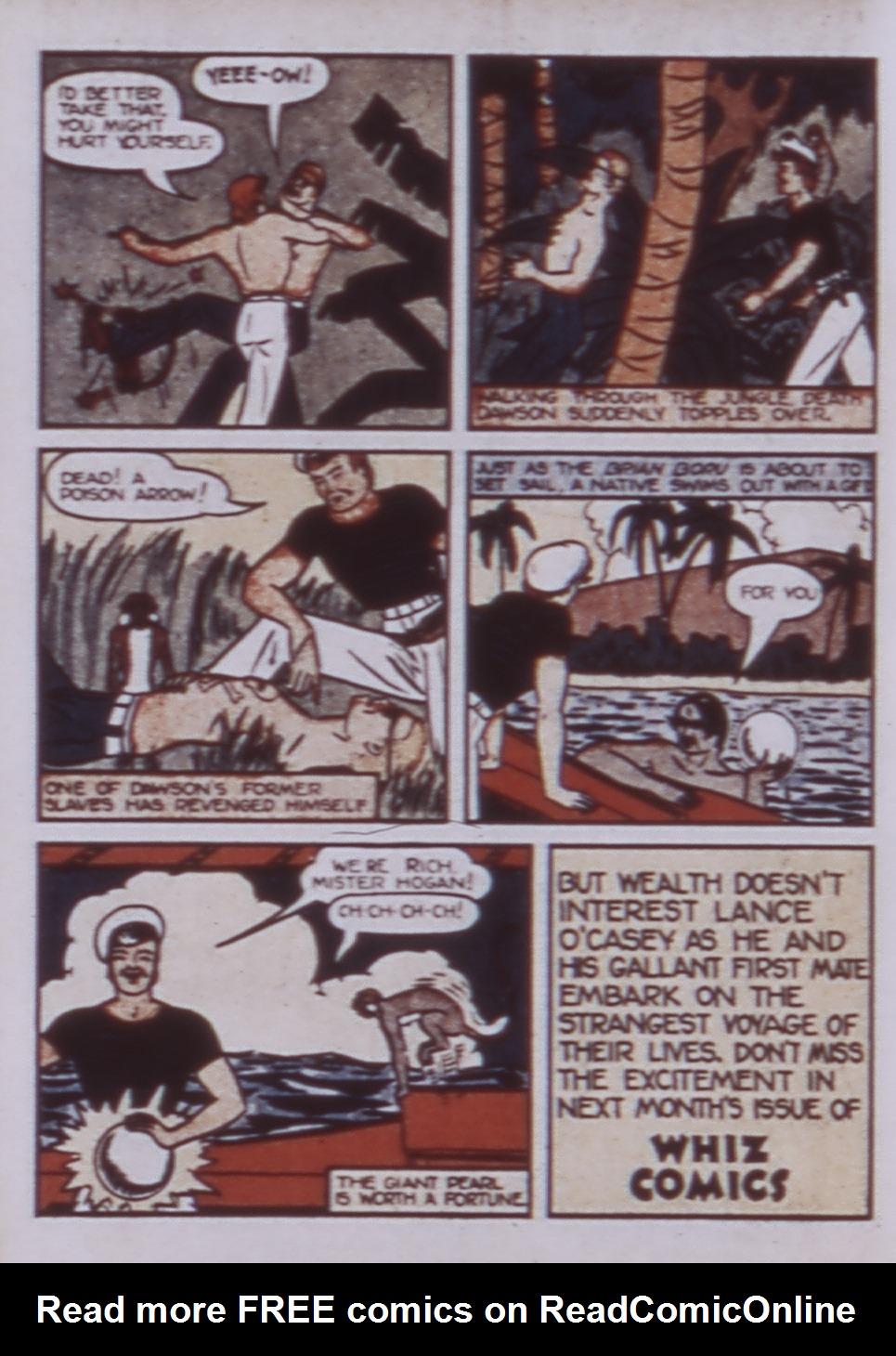 Read online WHIZ Comics comic -  Issue #3 - 50