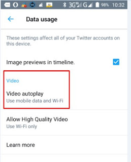 Cara Menonaktifkan Video Autoplay Twitter Di Android