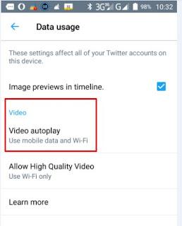 Cara Menonaktifkan Video Autoplay Twitter Di Android
