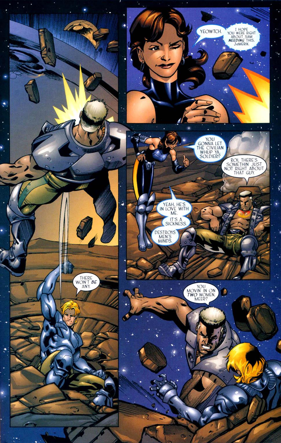 Read online Sigil (2000) comic -  Issue #10 - 19