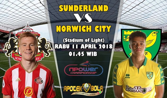 Prediksi Sunderland vs Norwich City 11 April 2018
