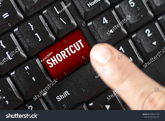 Function keyboard shortcut keys