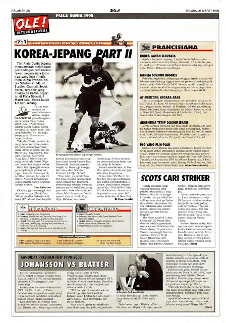 WORLD CUP 1998 SOUTH KOREA - JAPAN PART II
