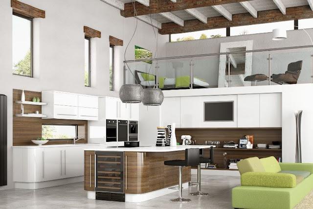 Thiết kế tủ bếp laminate cho căn hộ trung cư