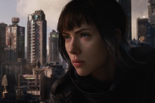 Scarlett Johansson's Ghost in the Shell