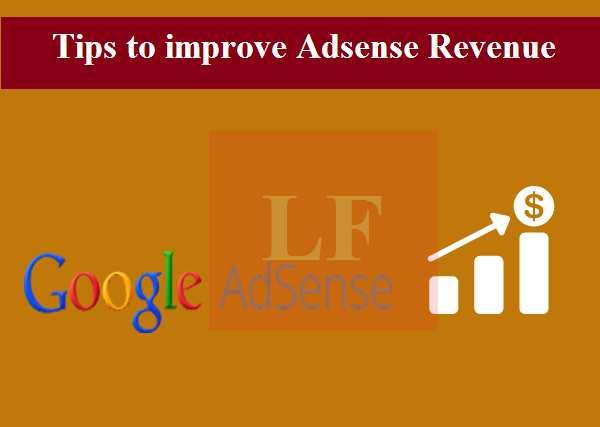 improving Adsense Revenue