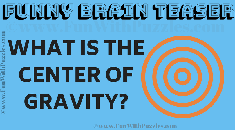 Funny Brain Teaser with Answer for Adults-Fun With Puzzles