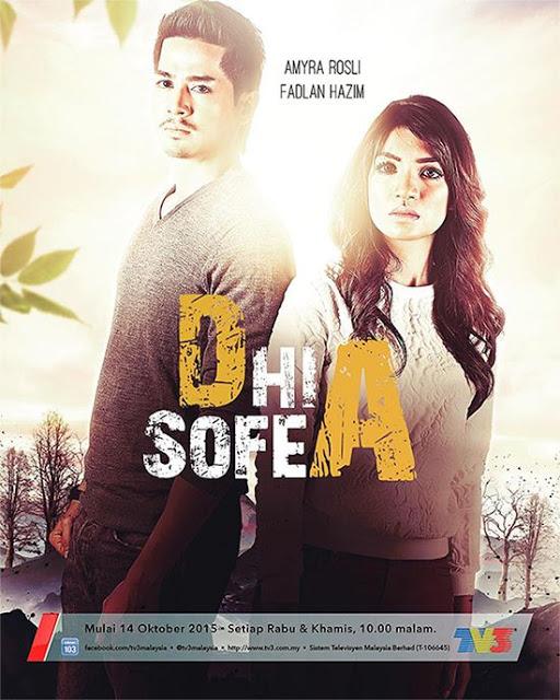 Sinopsis Dhia Sofea Drama TV3 Slot Samarinda, pelakon dan gambar drama Dhia Sofea TV3, OST lagu tema Dhia Sofea TV3 Merindukanmu : d'Masiv