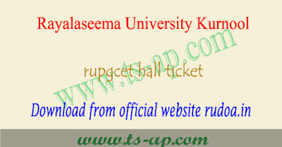 RU PGCET hall tickets 2021 download, rudoa results