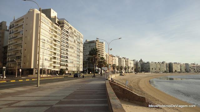 Rambla de Pocitos - Montevidéu, Uruguai