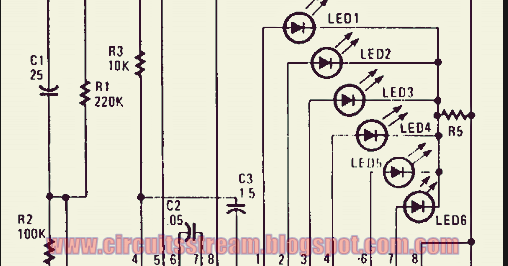 Simple Led Electronic Roulette Circuit Diagram Wiring Diagram Site