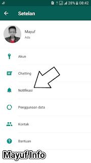 Cara Mengganti/Mengubah Nada Notifikasi Pesan/Group/Panggilan Di Whatsapp Terbaru