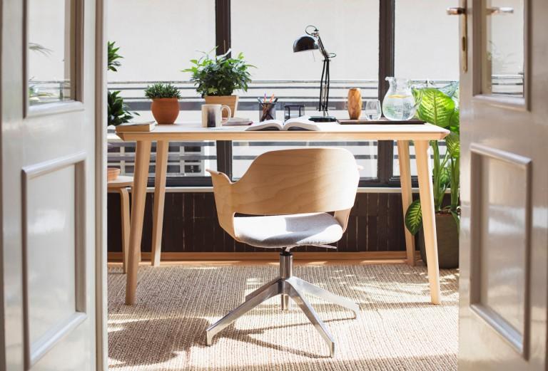 interior relooking: angolo studio in casa - Creare Angolo Studio In Soggiorno 2