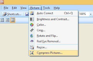 cara mengecilkan ukuran gambar - kompres