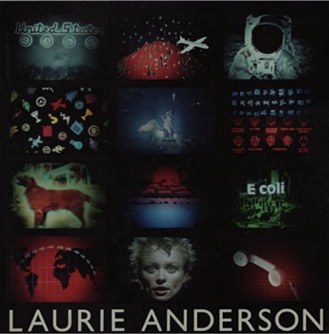 Artists' Books and Multiples: Laurie Anderson: Works from