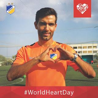 """Ο ΑΠΟΕΛ για την """"Παγκόσμια μέρα καρδιάς"""""""