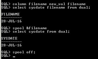 Murthy's Blog: Dynamic File Name in Command Spool