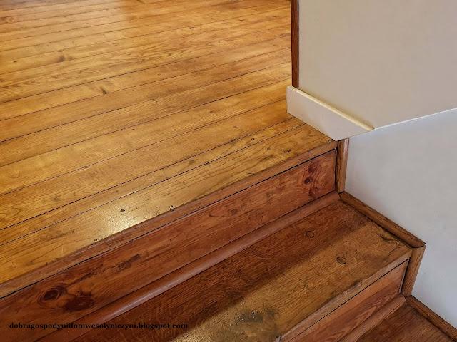 Prosty sposób na odnowienie schodów i podłogi drewnianej