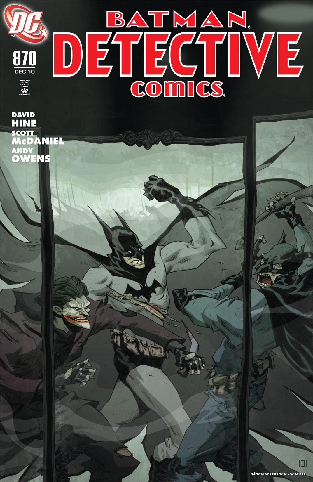 Detective Comics (1937) 870 Page 1