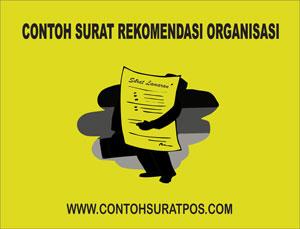 Gambar untuk Contoh Surat Rekomendasi Organisasi