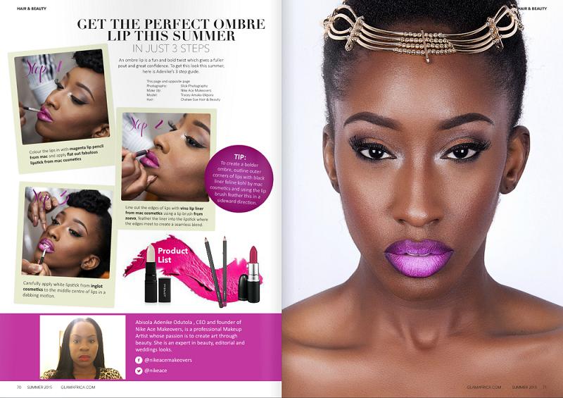 Glam Africa Magazine Summer 2015 Edition