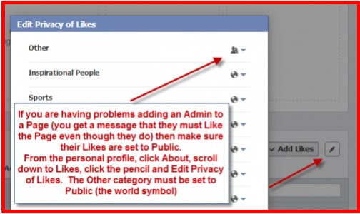 how do i add admin on facebook page