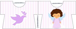 Tarjeta con forma de camisa de Angelita Morena.