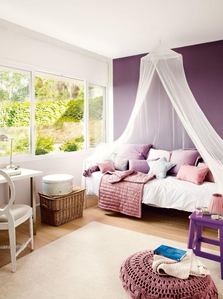 Diariodeco15 decorando con tela de tul decorar en - Ideas para pintar habitaciones ...