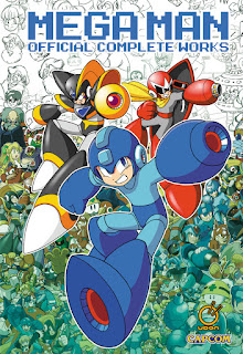 Udon MEGA MAN OFFICIAL COMPLETE WORKS art book