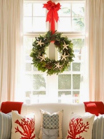 Coastal Christmas Wreath Ideas Green Amp Simple Coastal