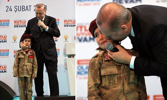 Turkish President's Comments On Child Martyrdom Spark Outrage
