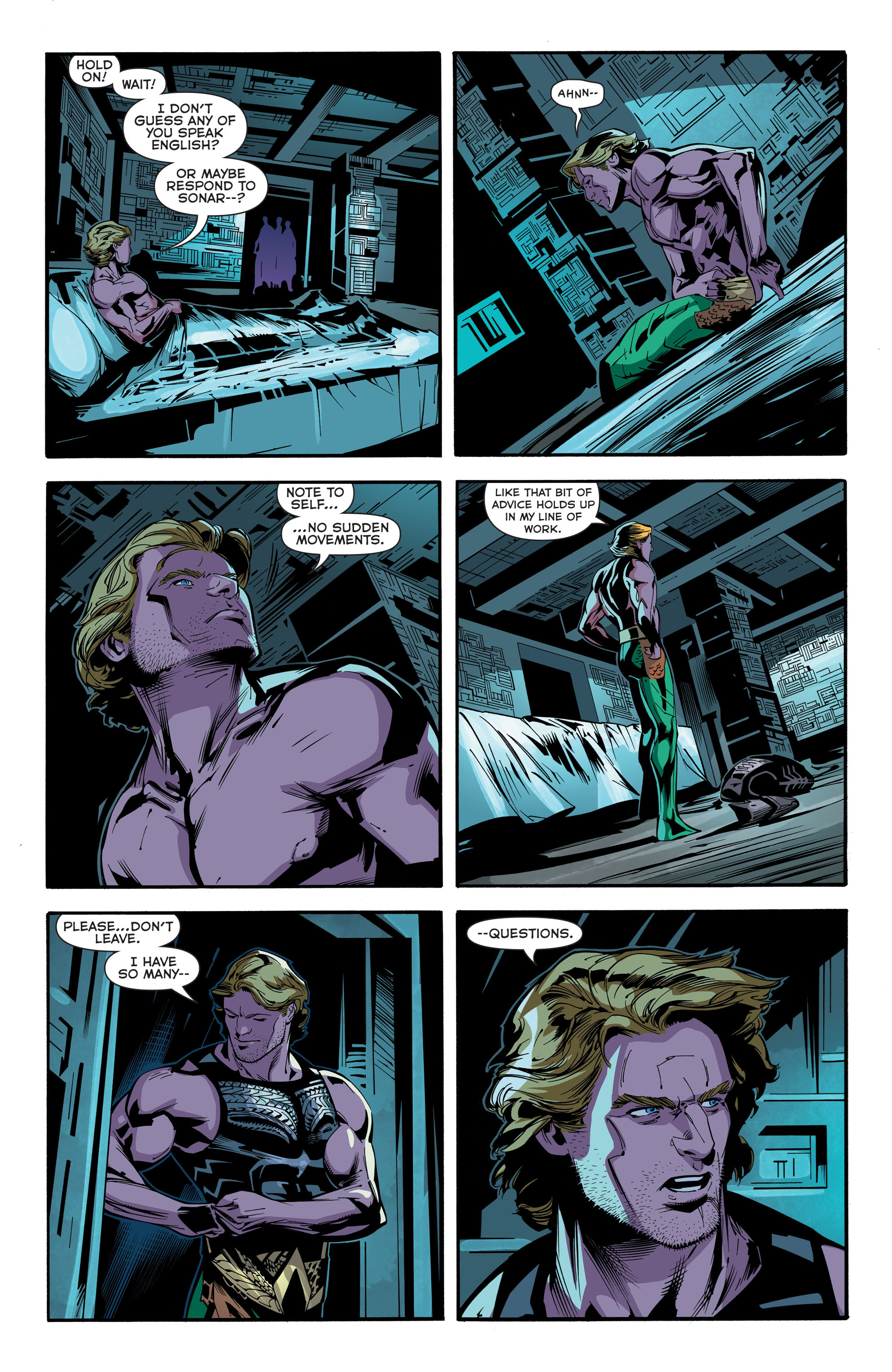 Read online Aquaman (2011) comic -  Issue #45 - 13