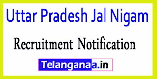 Uttar Pradesh Jal Nigam UPJN Recruitment Notification 2017