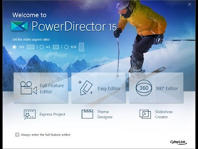 PowerDirector 15 Video Editing 2017 Free Download