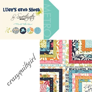 Moda Lucy's Crab Shack Quilt Fabric by Sweetwater