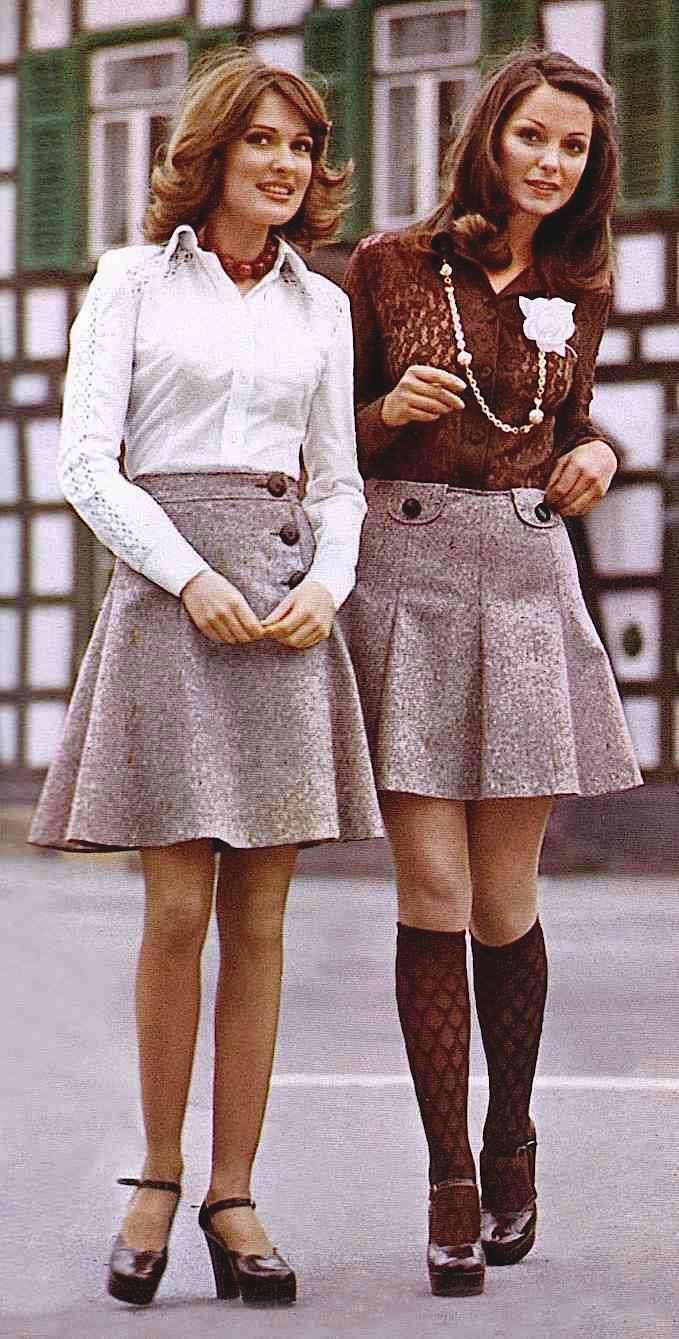 1974 brown fashion