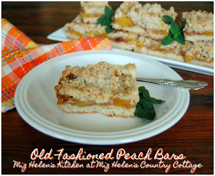 Old Fashioned Peach Bars