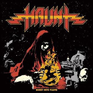 """Ο δίσκος των Haunt - """"Burst into Flame"""""""
