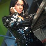 Andrea Rincon, Selena Spice Galeria 5 : Vestido De Latex Negro Foto 123
