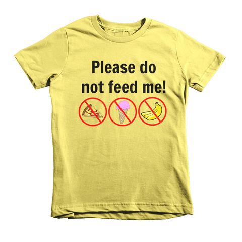 Please do not feed me shirt