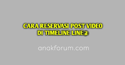 Cara reservasi post video