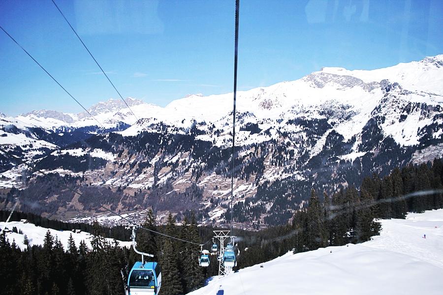 selbahn berge schnee ski