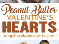 Chocolate Peanut Butter Valentine's Heart