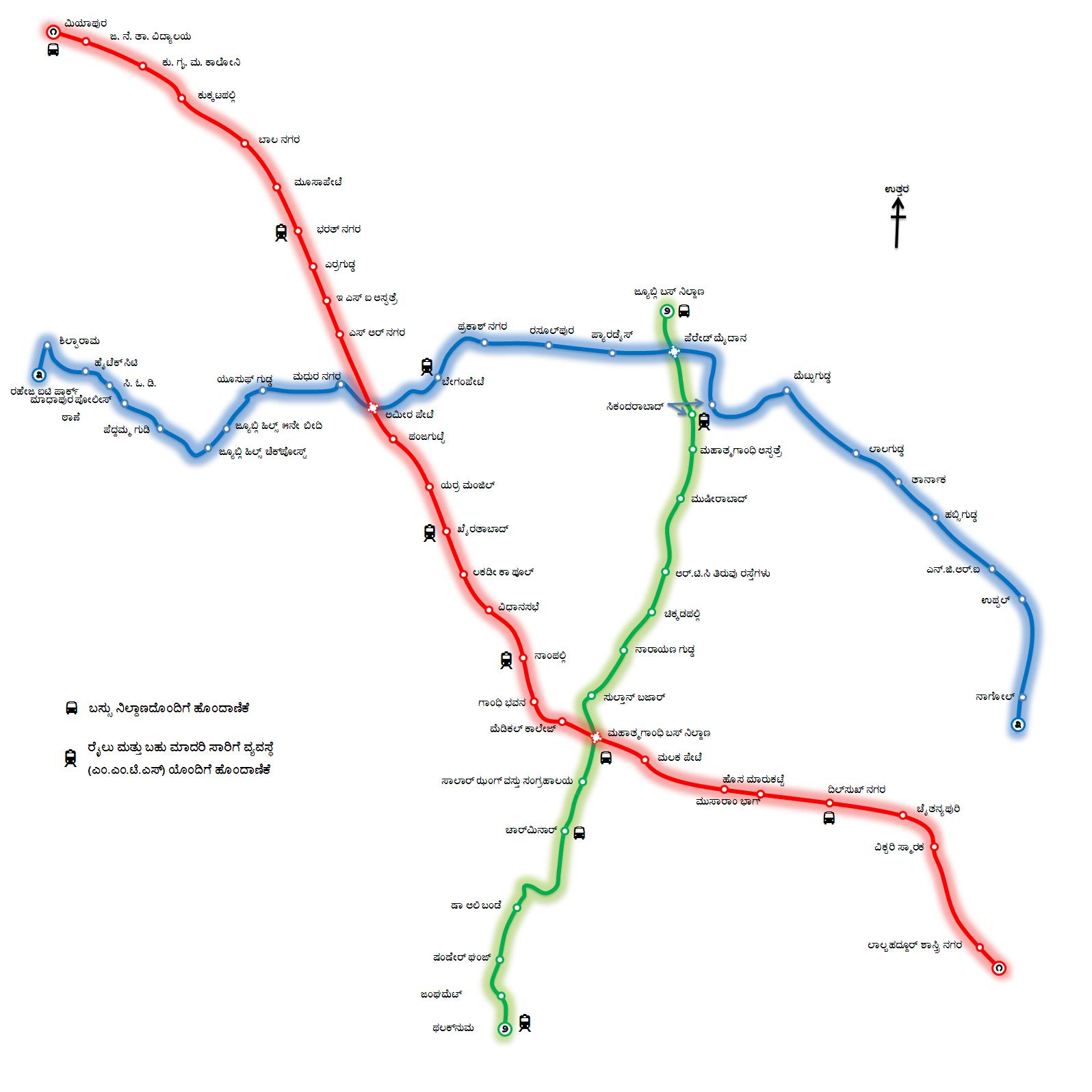 TELANGANA STATE : hyderabad metro rail