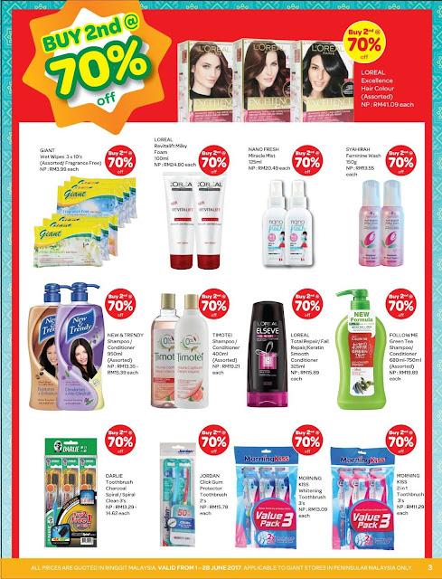 Giant Malaysia Health & Beauty Discount