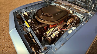 1970 Plymouth Barracuda 340 Coupe Convertible Cuda Engine