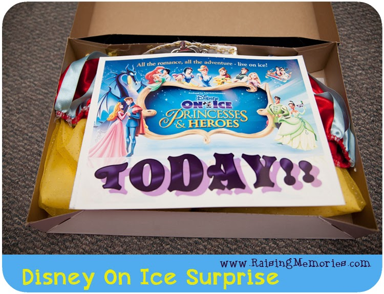 Fun Disney On Ice Surprise Gift by www.RaisingMemories.com