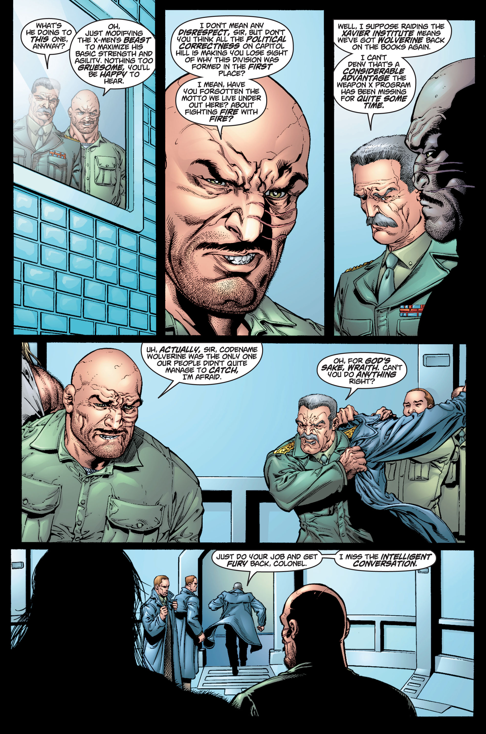 Read online Ultimate X-Men comic -  Issue #9 - 15